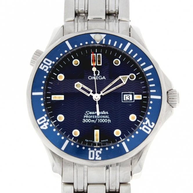 Sold Gents Omega Seamaster Pro 300m 25418000 (ref. 28.01.19 BDBE.SS)