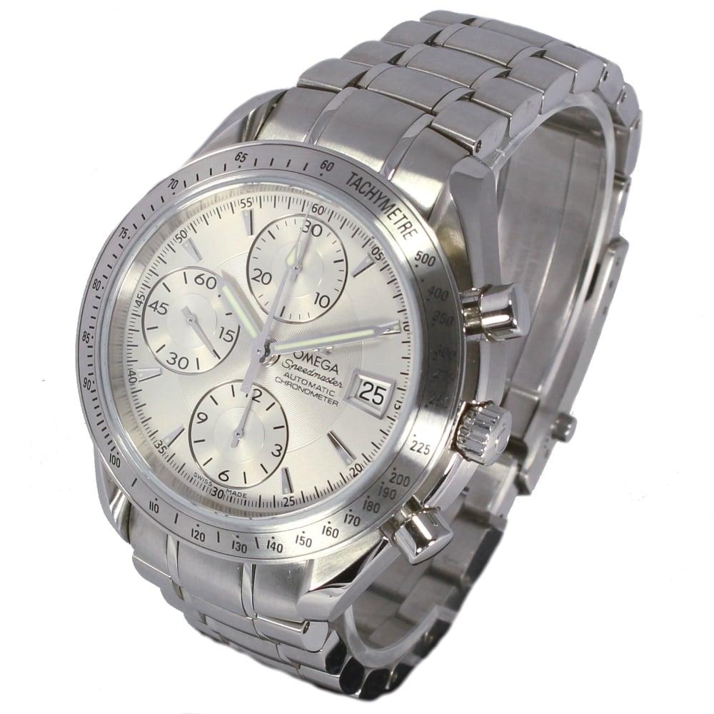 omega speedmaster date 3211 30 Full details and images of the omega speedmaster date 40 stainless steel / panda / bracelet (32113100).