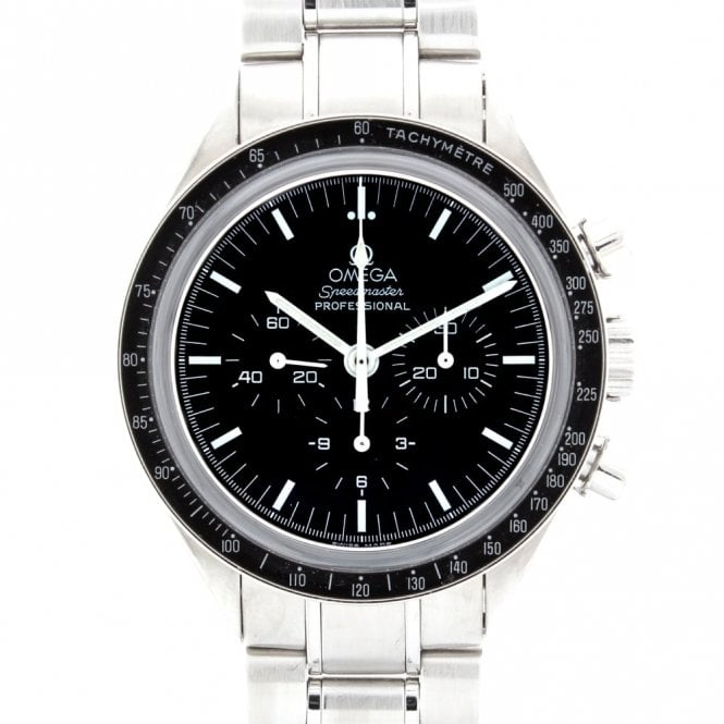 Sold Gents Omega Speedmaster Moon Watch 35735000 (ref. 08.04.2019 OEED.SS)