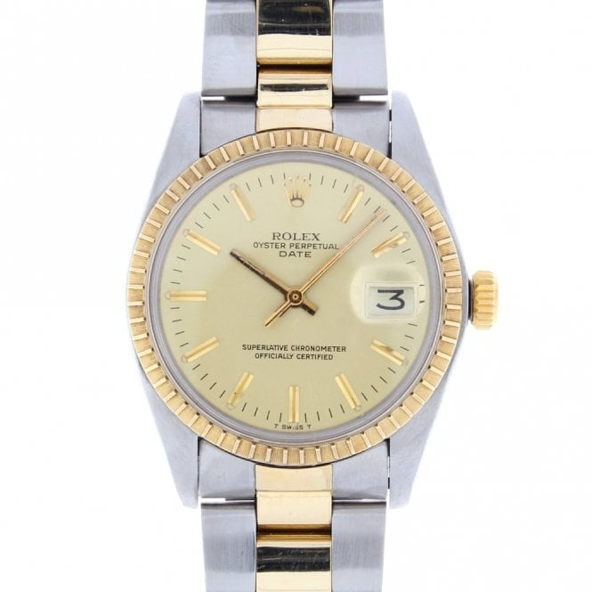 Sold Gents Rolex Oyster Perpetual Date 1505 (ref. UODS.SS 19.5.18)