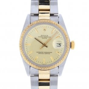 Gents Rolex Oyster Perpetual Date 1505 (ref. UODS.SS 19.5.18)