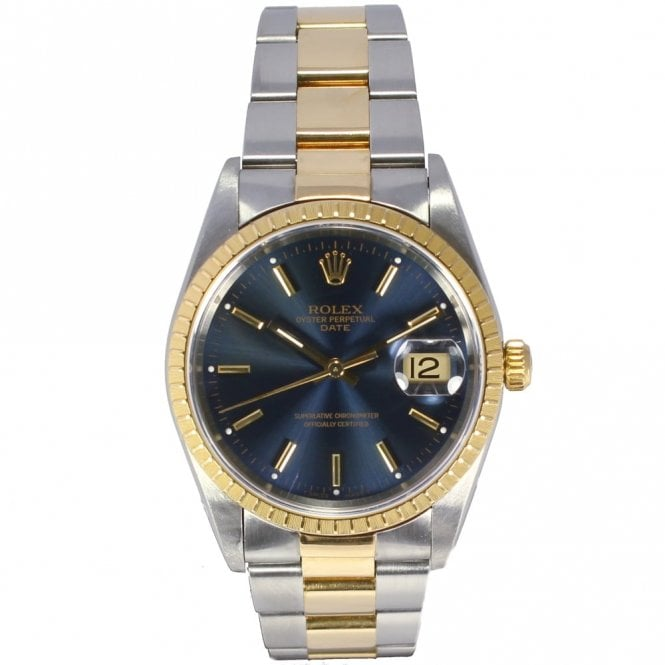 Sold Gents Rolex Oyster Perpetual Date 15223