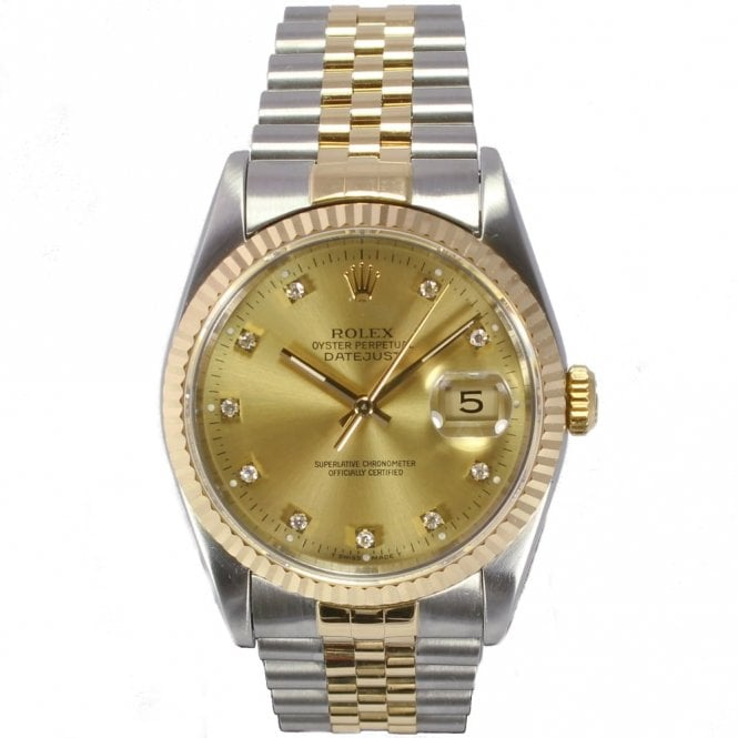 Sold Gents Rolex Oyster Perpetual Datejust 16233