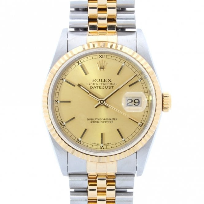Sold Gents Rolex Oyster Perpetual Datejust 16233 (ref. 15.7.17 URDS.SS)