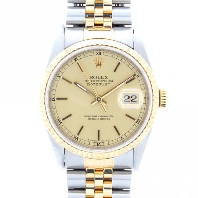 Sold Gents Rolex Oyster Perpetual Datejust 16233 (ref. 2.3.20 NEDS.SS)