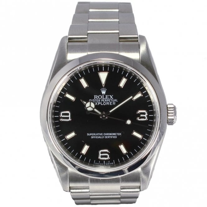 Sold Gents Rolex Oyster Perpetual Explorer 114270