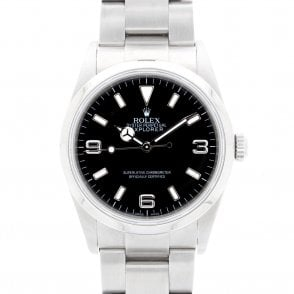 Gents Rolex Oyster Perpetual Explorer 14270 (ref. 10.11.18 NBDS.SS)