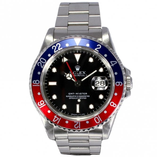 Sold Gents Rolex Oyster Perpetual GMT Master 16700