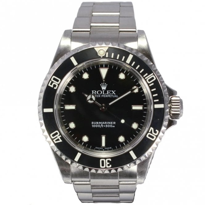 Sold Gents Rolex Oyster Perpetual Submariner 14060M (Ref. 24.10.17 DNDS.SS)