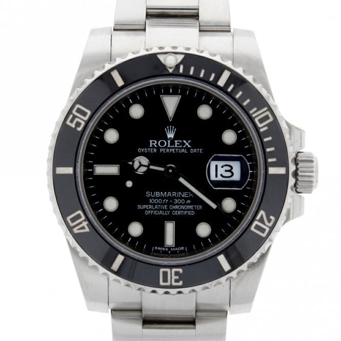 Sold Gents Rolex Oyster Perpetual Submariner Date 116610LN (ref. ARDS.SS 8.2018)