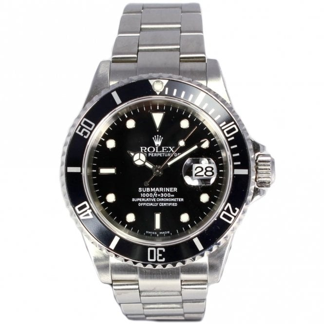 Sold Gents Rolex Oyster Perpetual Submariner Date 16610