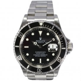 Gents Rolex Oyster Perpetual Submariner Date 16610
