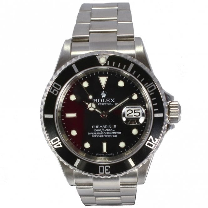 Sold Gents Rolex Oyster Perpetual Submariner Date 16610 (Ref 1.9.17 DEED.SS)