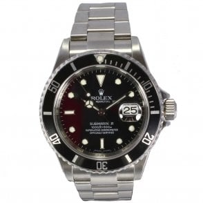 Gents Rolex Oyster Perpetual Submariner Date 16610 (Ref 1.9.17 DEED.SS)