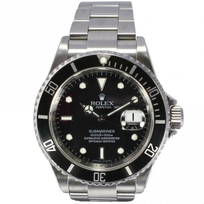 Sold Gents Rolex Oyster Perpetual Submariner Date 16610 (Ref. 13.4.17 DRDS.SS)