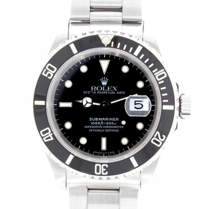 Sold Gents Rolex Oyster Perpetual Submariner Date 16610 (ref. 2.11.19 RIDS.SS)