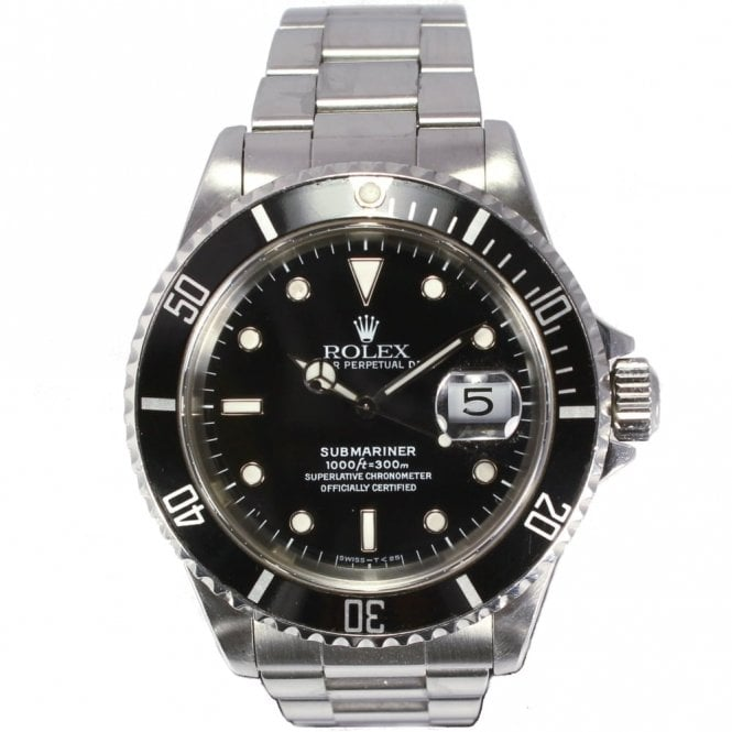 Sold Gents Rolex Oyster Perpetual Submariner Date 16610 (Ref. 24.1.17 DODS.SS)