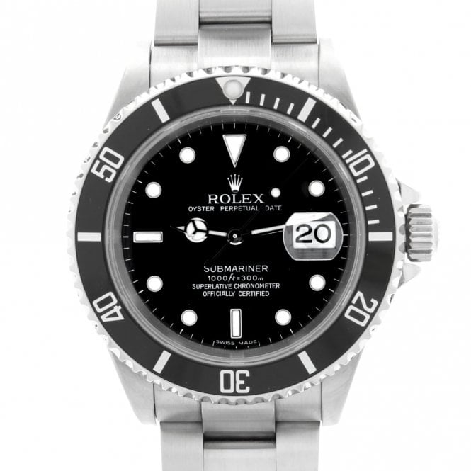 Sold Gents Rolex Oyster Perpetual Submariner Date 16610 (ref. 26.1.2018 DEED.SS)