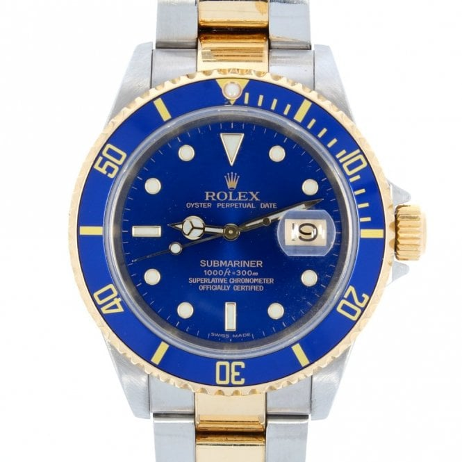 Sold Gents Rolex Oyster Perpetual Submariner Date 16613 (ref. 31.12.19 EIDS.SS)