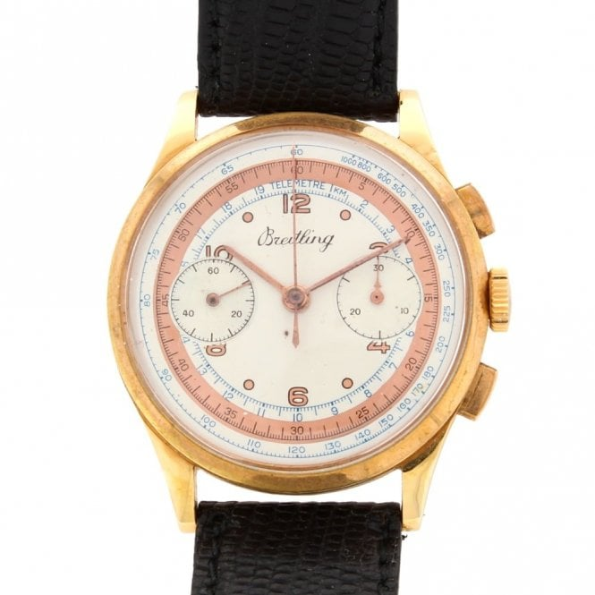 Sold Gents Vintage Breitling Chronograph (ref. OUDS.SS 27.4.18)