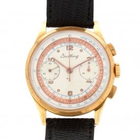 Gents Vintage Breitling Chronograph (ref. OUDS.SS 27.4.18)
