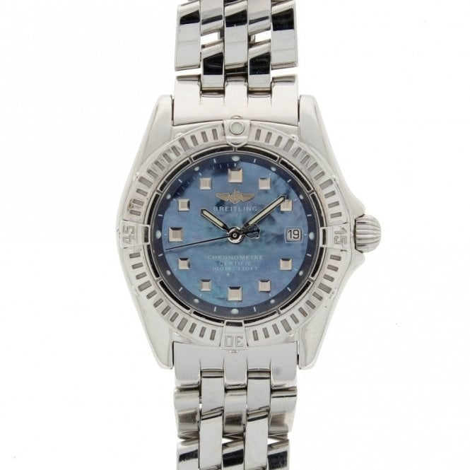 Sold Ladies Breitling Callistino A72345 (ref. 12.19 BEES.SS)