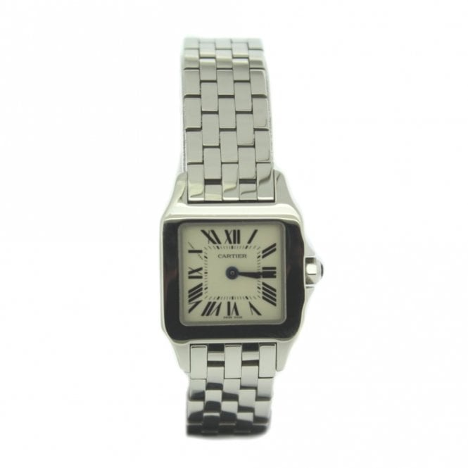 Sold Ladies Cartier Santos Demoiselle W25064Z5 (Ref. 17.6.17 ODDS.SS)