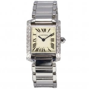 Ladies Cartier Tank Francais 2384