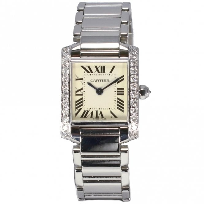 Sold Ladies Cartier Tank Francais 2384 (Ref. 22.6.17 OEDS.SS)
