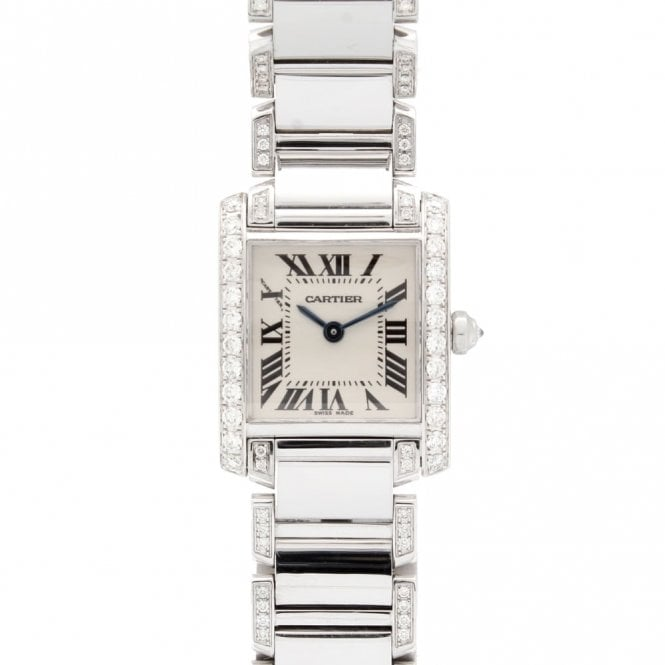 Sold Ladies Cartier Tank Francaise 2384 (ref. ##.03.2018 UEDS.SS)