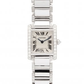 Ladies Cartier Tank Francaise 2384 (ref. ##.03.2018 UEDS.SS)