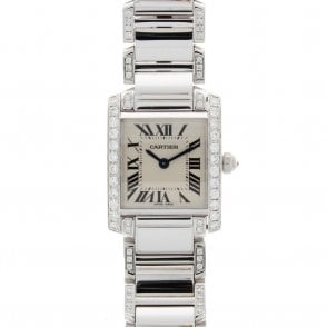 Ladies Cartier Tank Francaise 2384 (ref. 12.19 NBDS.SS)