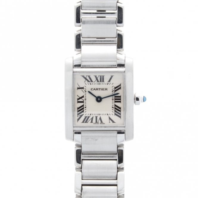 Sold Ladies Cartier Tank Francaise W51008Q3 (ref. BESS.SS 26.3.2018)