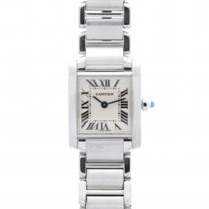 Ladies Cartier Tank Francaise W51008Q3 (ref. BESS.SS 26.3.2018)
