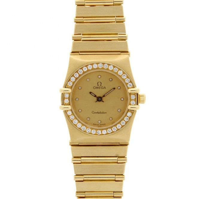 Sold Ladies Omega Constellation 11751500 (ref. 24.1.20 NISS.SS)