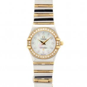 Ladies Omega Constellation 95 1267.75.00 (ref. BIND.IU 13.6.18)