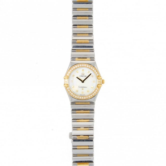 Sold Ladies Omega Constellation My Choice 1376-71-00 (ref. 16.1.2018 BIDS.SS)