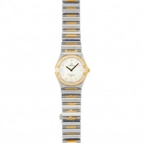 Ladies Omega Constellation My Choice 1376-71-00 (ref. 16.1.2018 BIDS.SS)