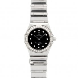 Ladies Omega Constellation My Choice Mini 14655100 (ref. 08.18 BDRD.SS)