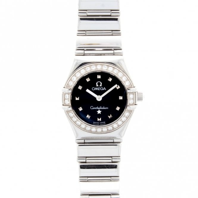 Sold Ladies Omega Constellation My Choice Mini 14655100 (ref. BDSS.SS 12.06.18)