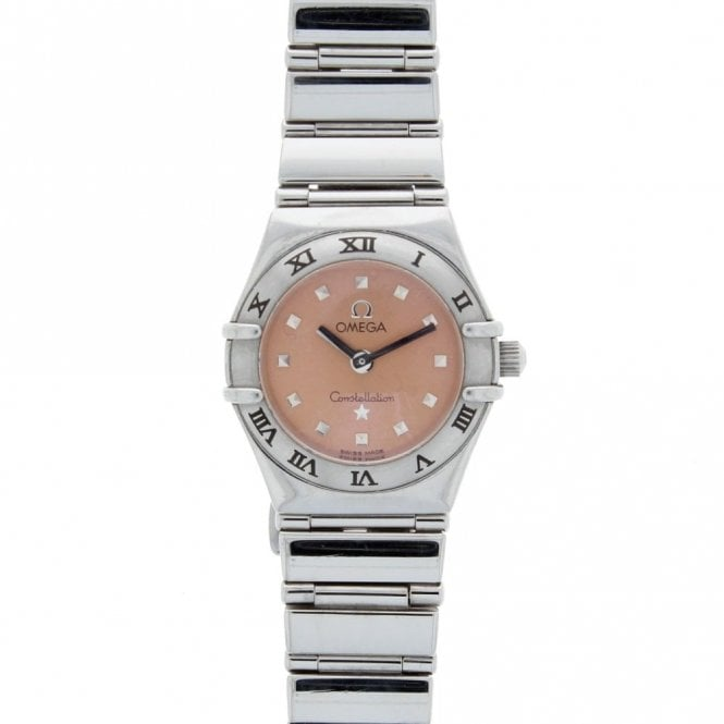 Sold Ladies Omega Constellation My Choice Mini 15616100 (ref. 14.1.20 BOSS.SS)