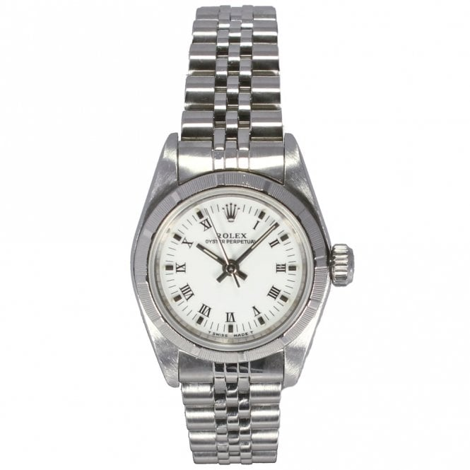 Sold Ladies Oyster Perpetual Non-Date 67230 (Ref. 11.10.17 OBDS.SS)