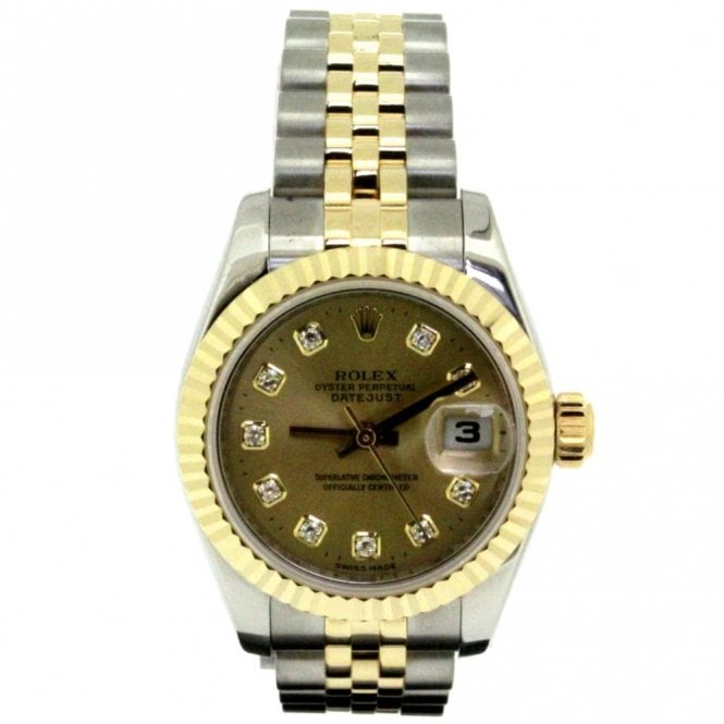 Sold Ladies Rolex Oyster Perpetual Datejust 179173