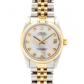 Ladies Rolex Oyster Perpetual Datejust 68273 (ref. 26.09.18 NSSS.SS)