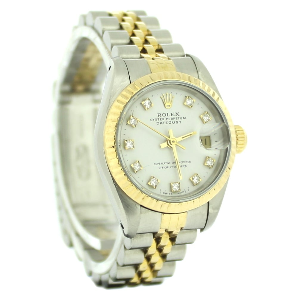 Sold Ladies Rolex Oyster Perpetual Datejust 69173 (Ref. 08 ...