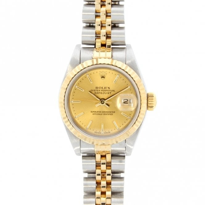 Sold Ladies Rolex Oyster Perpetual Datejust 69173 (ref. 12.19 UDSS.SS)