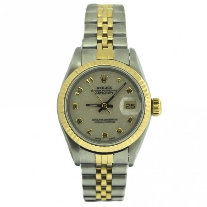 Sold Ladies Rolex Oyster Perpetual Datejust 69173 (Ref. 28.4.17 OEED.SS)