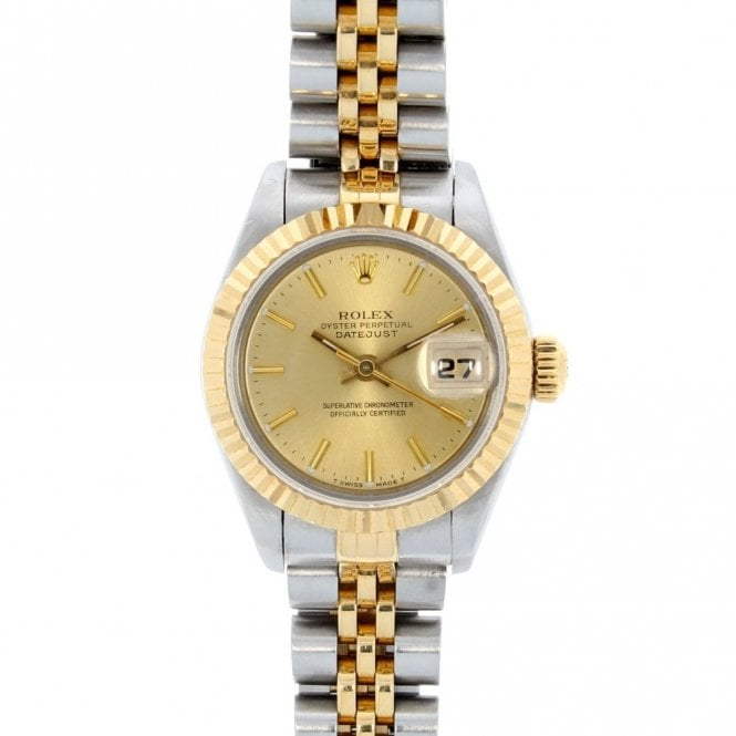 Sold Ladies Rolex Oyster Perpetual Datejust 69173 (ref. 3.19 UODS.SS)