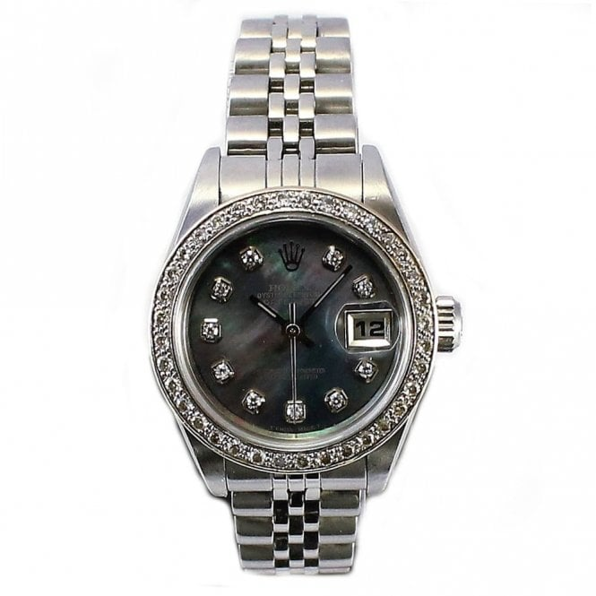 Sold Ladies Rolex Oyster Perpetual Datejust 79160 (Ref. 20.2.17 UEED.SS)