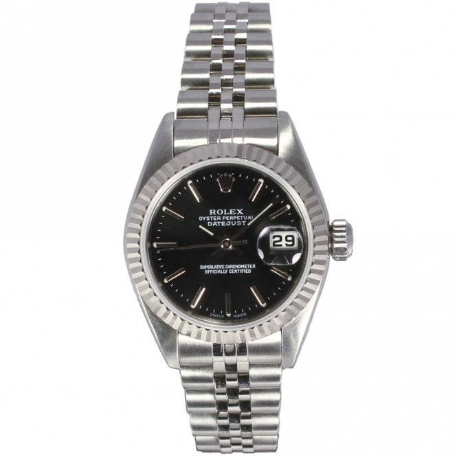 Sold Ladies Rolex Oyster Perpetual Datejust 79174 (ref. 30 ...